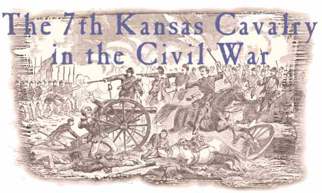 7th Kansas Cavalry In The Civil War